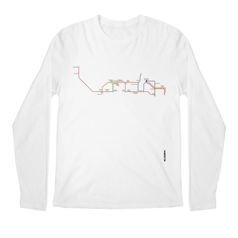 London Tube Men's Regular Longsleeve T-Shirt by eleven