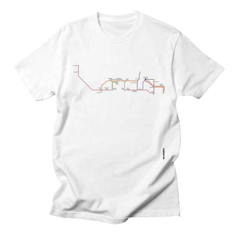 London Tube Men's Regular T-Shirt by eleven