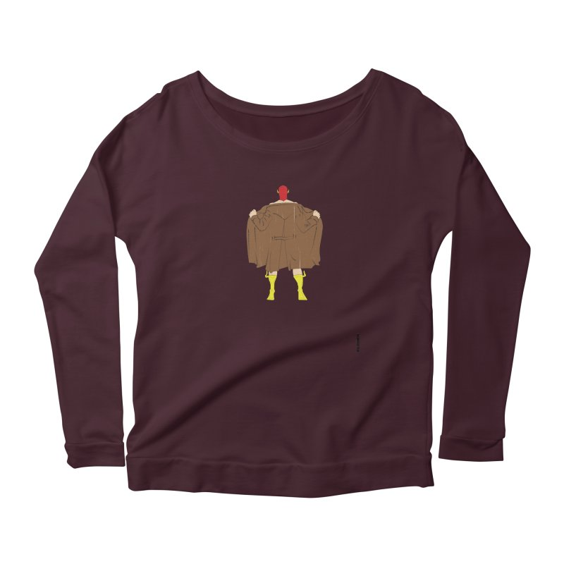 The Flash Women's Scoop Neck Longsleeve T-Shirt by eleven
