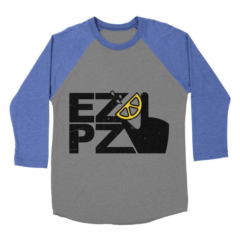 EZPZ Men's Baseball Triblend Longsleeve T-Shirt by eleven