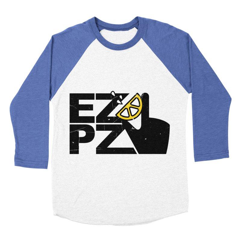 EZPZ Men's Baseball Triblend T-Shirt by eleven