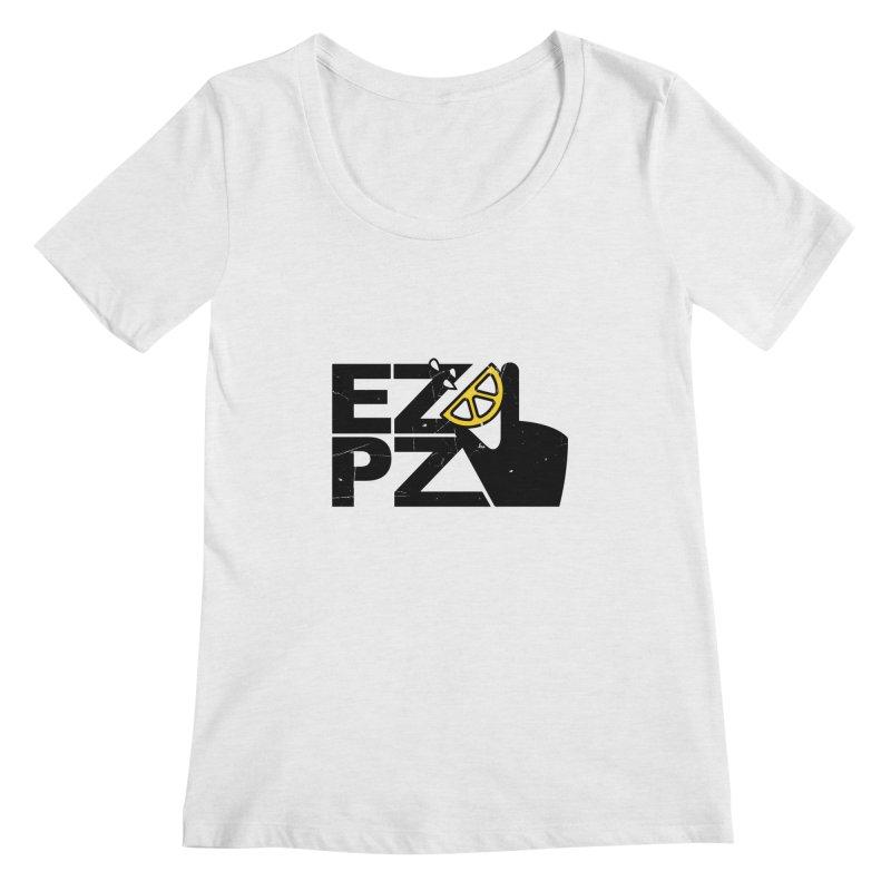 EZPZ Women's Regular Scoop Neck by eleven