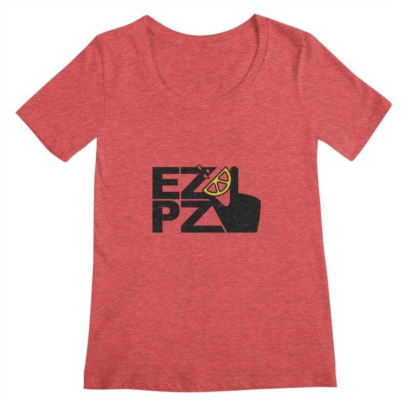 EZPZ Women's Scoopneck by eleven