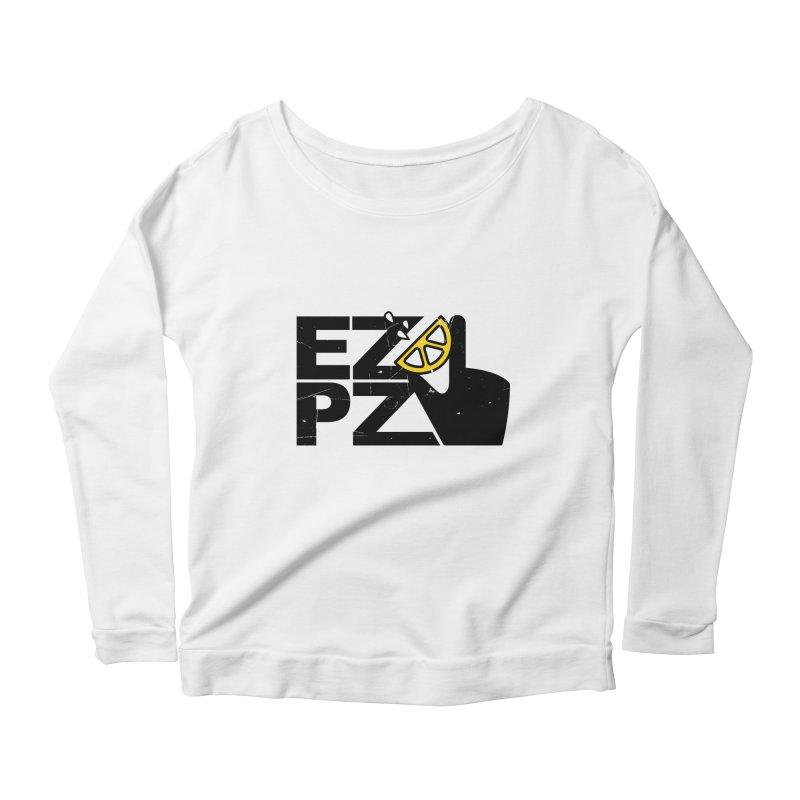EZPZ Women's Longsleeve Scoopneck  by eleven