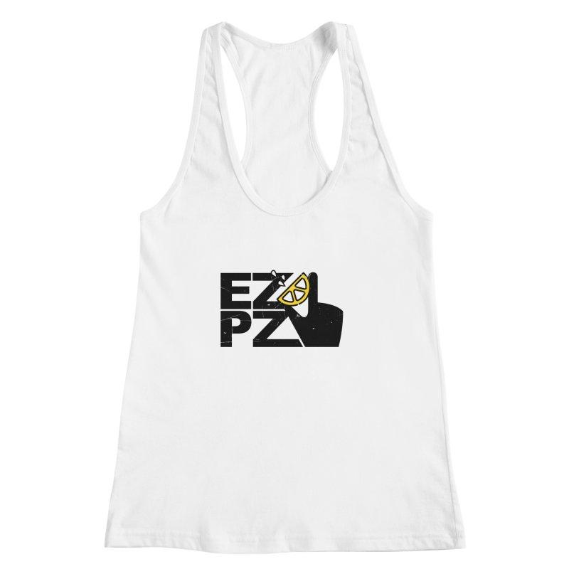 EZPZ Women's Racerback Tank by eleven