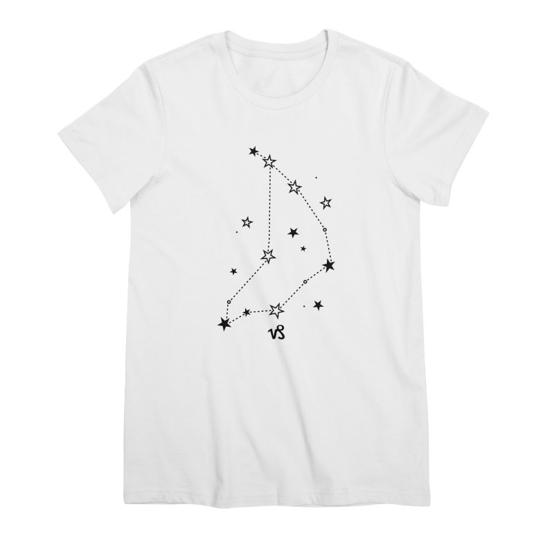 Capricorn Zodiac Sign Women's Premium T-Shirt by eleventy-five's Shop