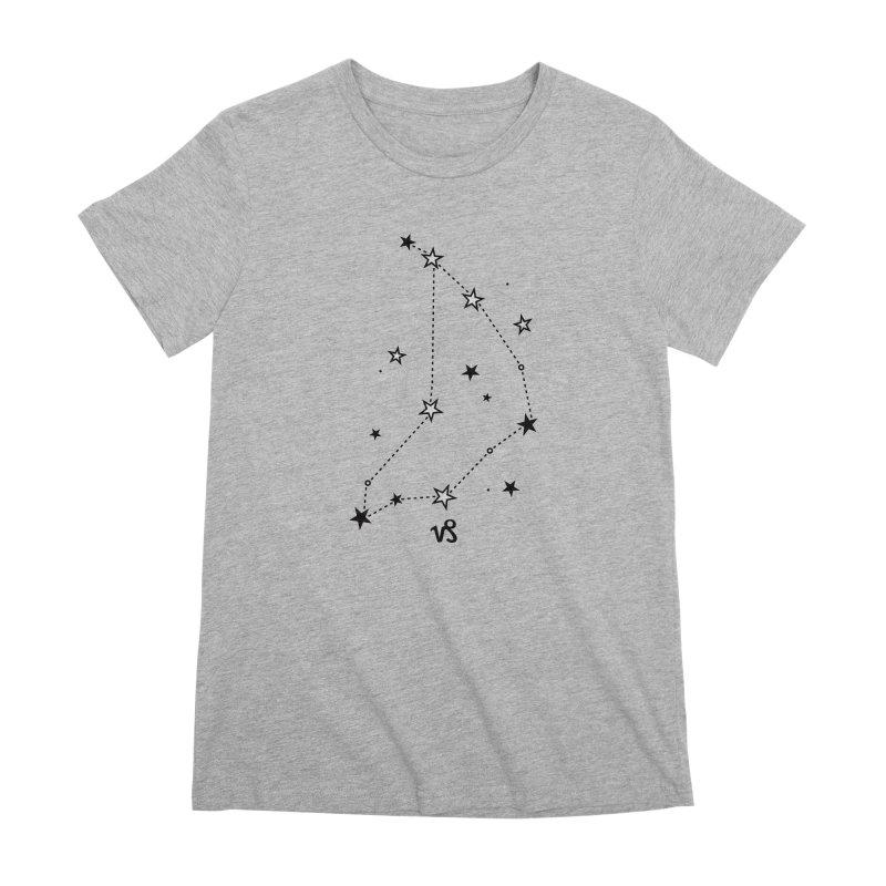 Capricorn Zodiac Sign Women's Premium T-Shirt by eleventy-five's Shop