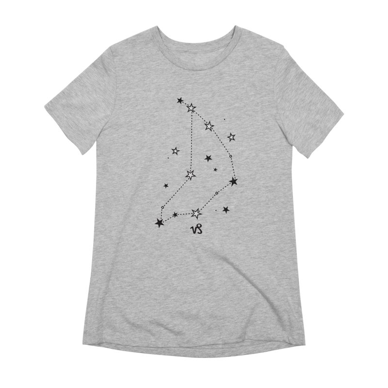 Capricorn Zodiac Sign Women's Extra Soft T-Shirt by eleventy-five's Shop