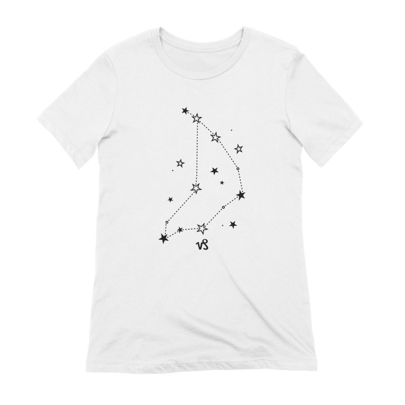 Capricorn Zodiac Sign Women's Extra Soft T-Shirt by eleventy-five's Shop