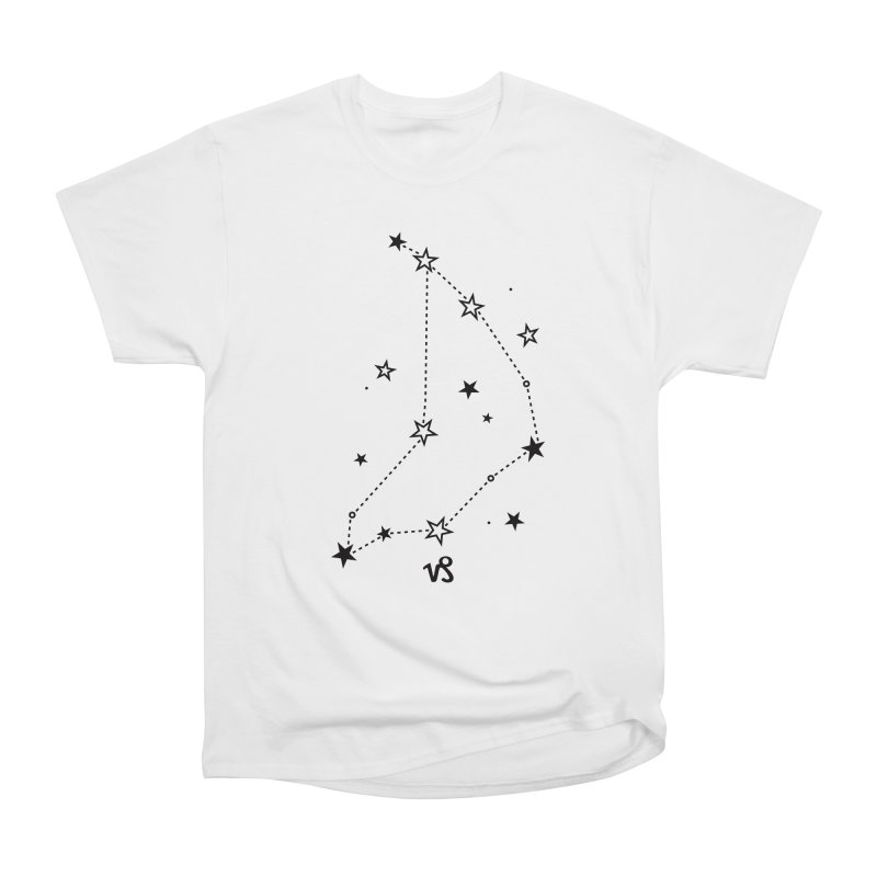 Capricorn Zodiac Sign Men's Heavyweight T-Shirt by eleventy-five's Shop