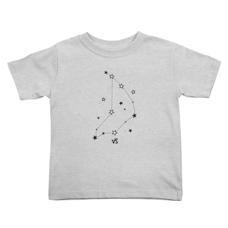 Capricorn Zodiac Sign Kids Toddler T-Shirt by eleventy-five's Shop
