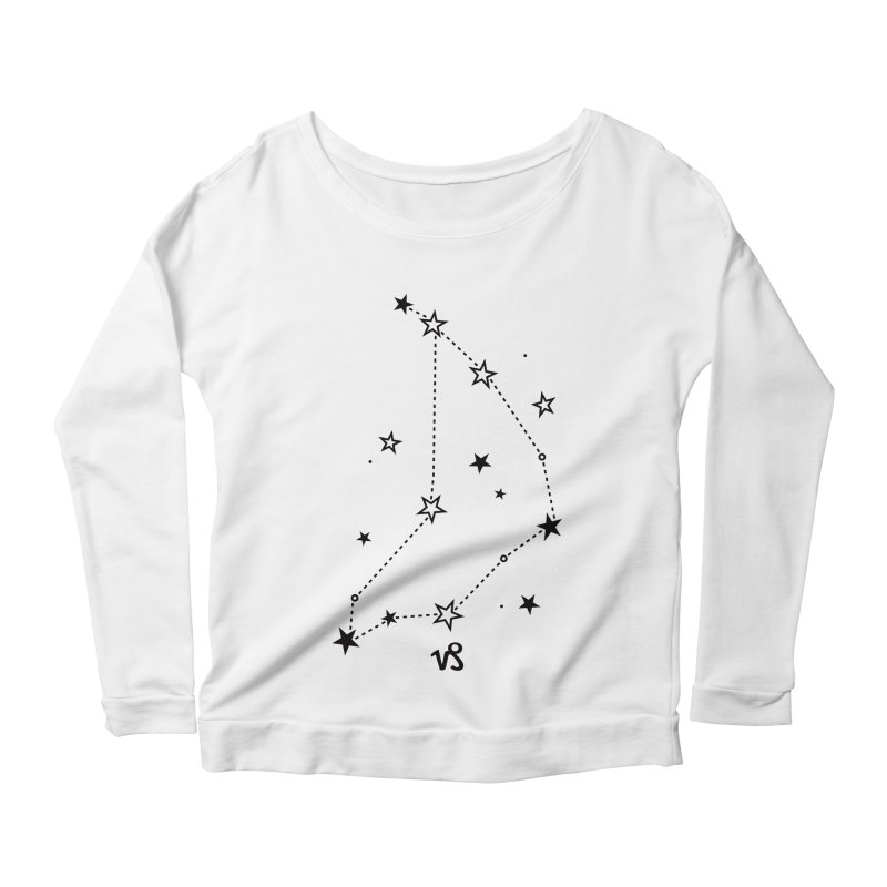 Capricorn Zodiac Sign Women's Scoop Neck Longsleeve T-Shirt by eleventy-five's Shop
