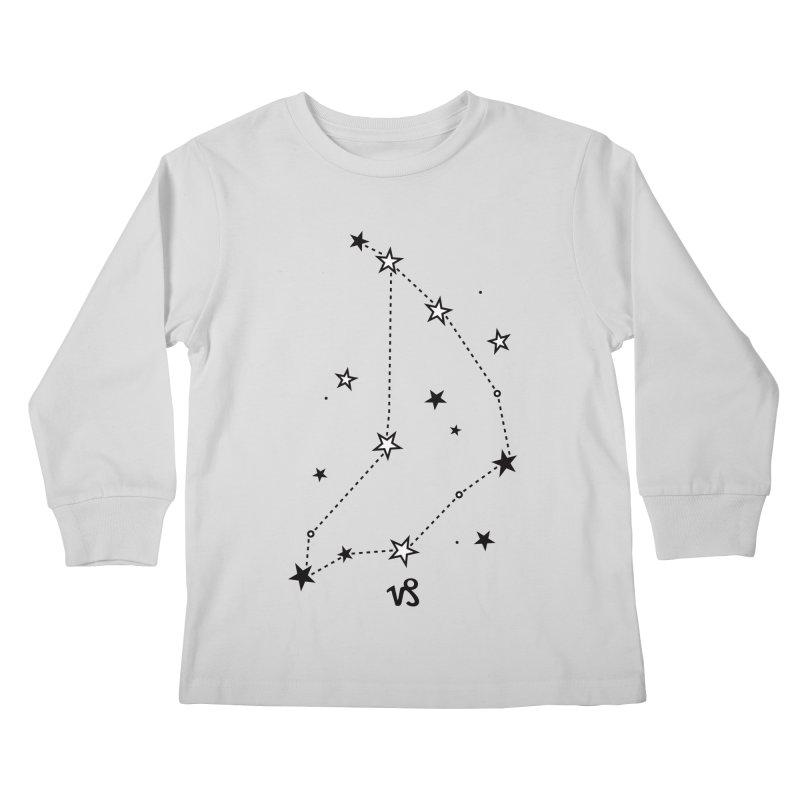 Capricorn Zodiac Sign Kids Longsleeve T-Shirt by eleventy-five's Shop