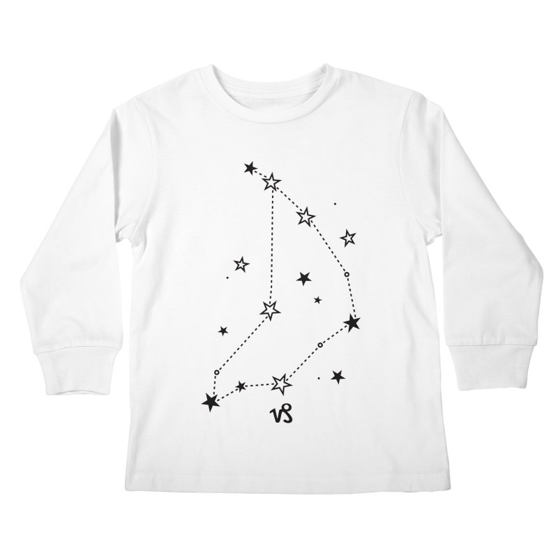 Capricorn Zodiac Sign Kids Longsleeve T-Shirt by eleventy-five's Shop
