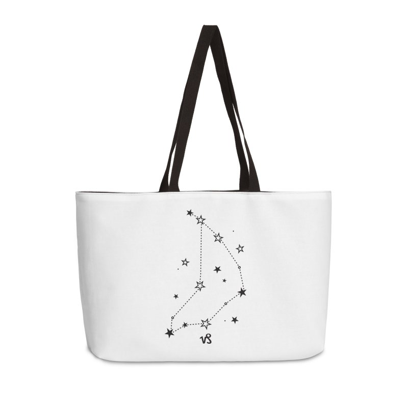 Capricorn Zodiac Sign Accessories Weekender Bag Bag by eleventy-five's Shop