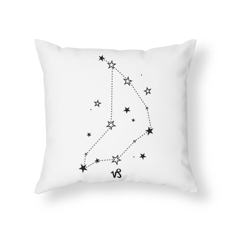 Capricorn Zodiac Sign Home Throw Pillow by eleventy-five's Shop