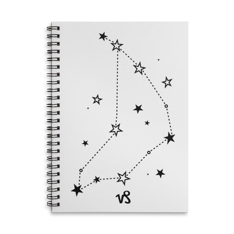 Capricorn Zodiac Sign Accessories Notebook by eleventy-five's Shop