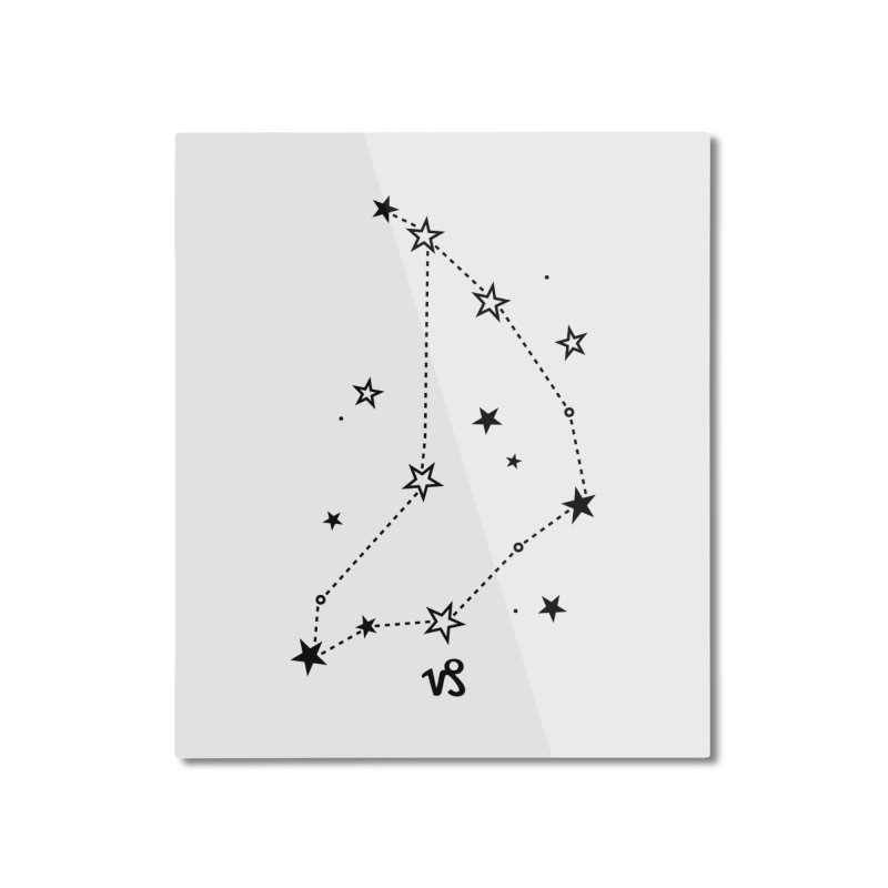 Capricorn Zodiac Sign Home Mounted Aluminum Print by eleventy-five's Shop