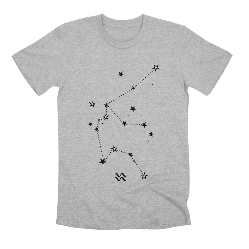 Aquarius Zodiac Sign Men's Premium T-Shirt by eleventy-five's Shop