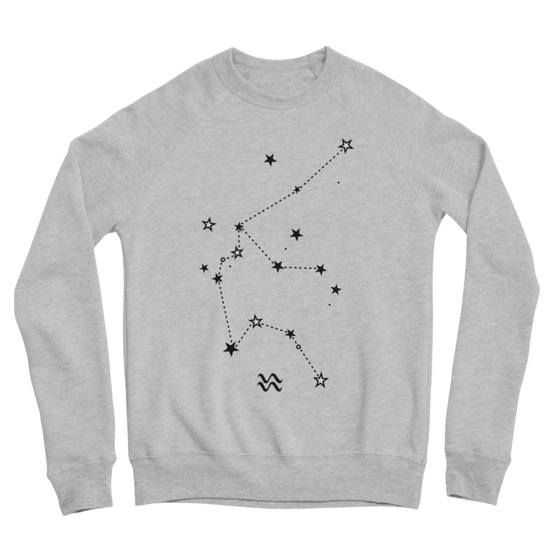 Aquarius Zodiac Sign Women's Sponge Fleece Sweatshirt by eleventy-five's Shop