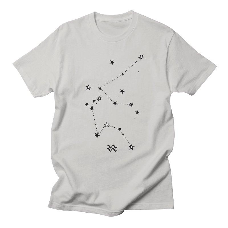 Aquarius Zodiac Sign Men's Regular T-Shirt by eleventy-five's Shop