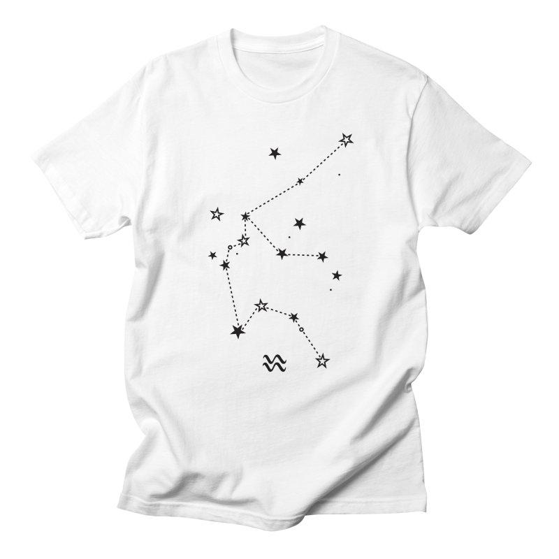 Aquarius Zodiac Sign Women's Regular Unisex T-Shirt by eleventy-five's Shop