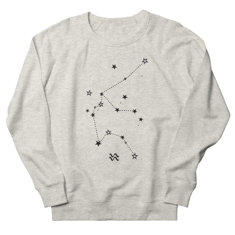 Aquarius Zodiac Sign Women's Sweatshirt by eleventy-five's Shop