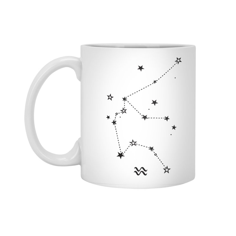 Aquarius Zodiac Sign Accessories Standard Mug by eleventy-five's Shop