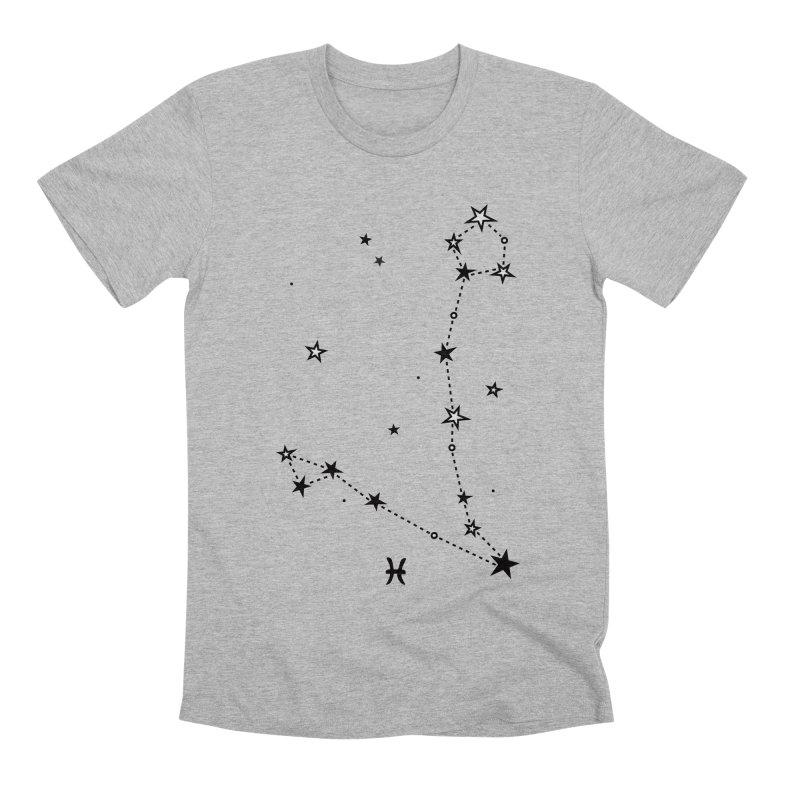 Pisces Zodiac Sign Men's Premium T-Shirt by eleventy-five's Shop