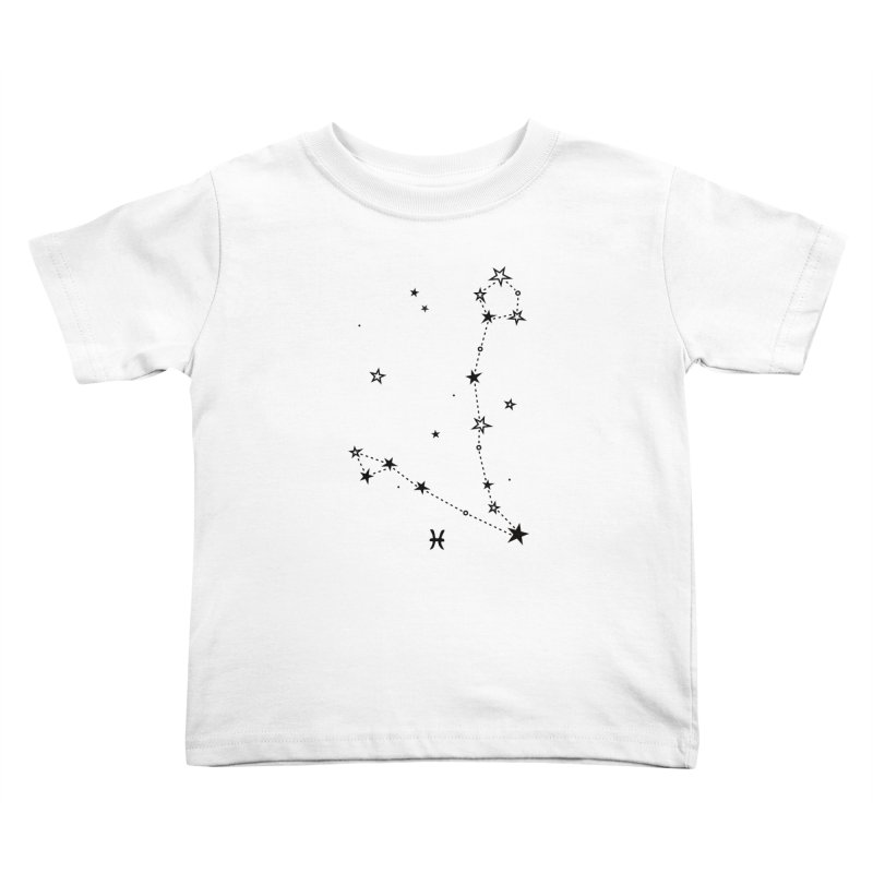 Pisces Zodiac Sign Kids Toddler T-Shirt by eleventy-five's Shop