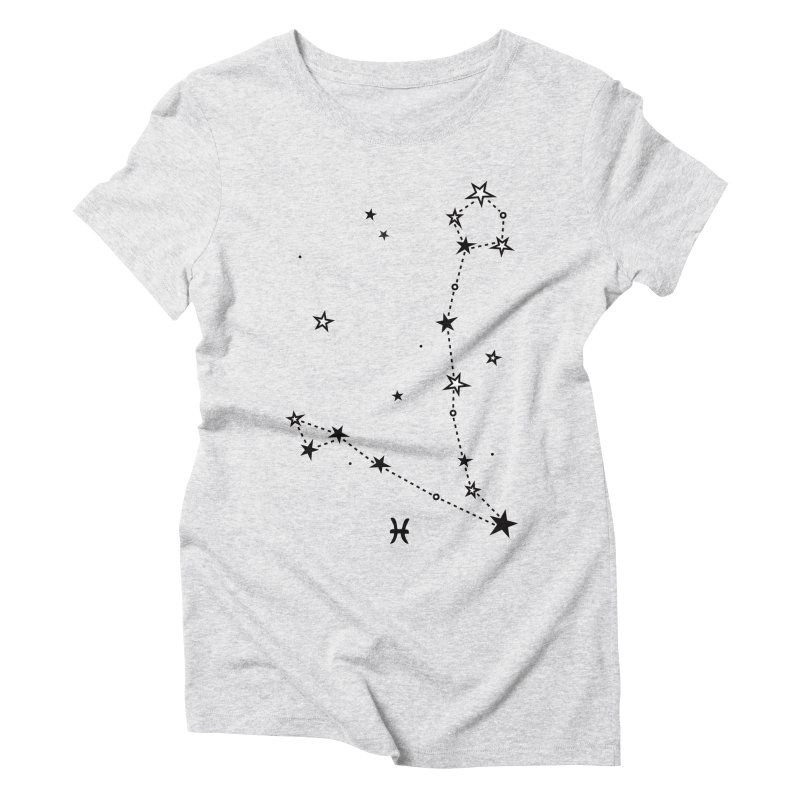 Pisces Zodiac Sign Women's Triblend T-Shirt by eleventy-five's Shop