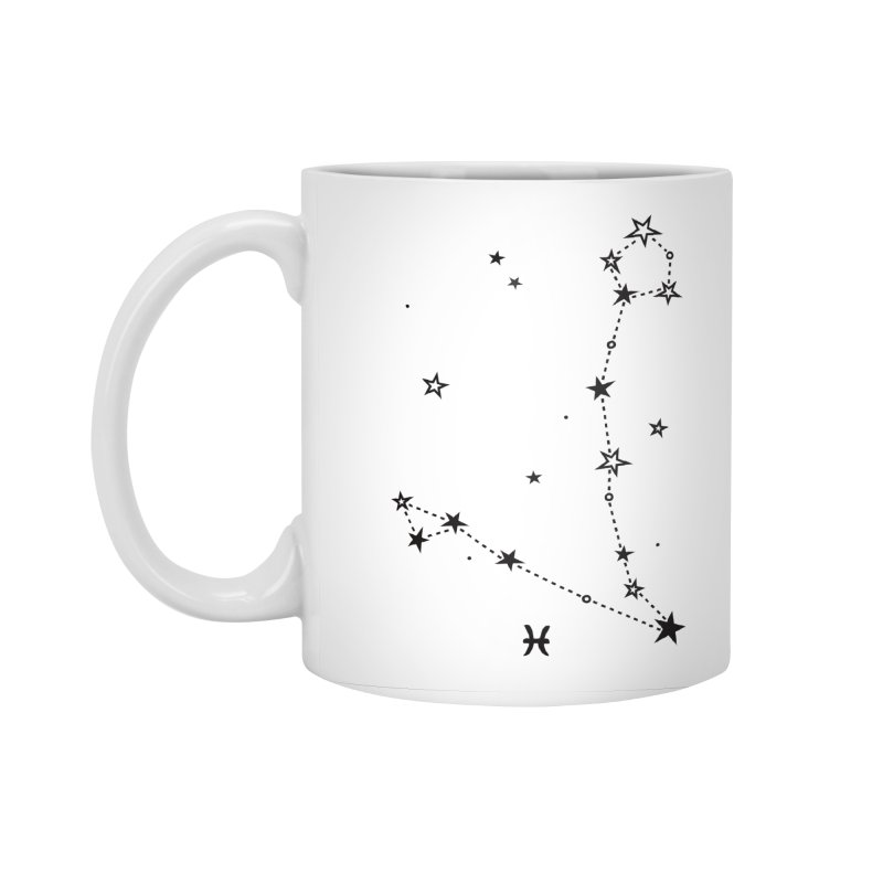Pisces Zodiac Sign Accessories Standard Mug by eleventy-five's Shop