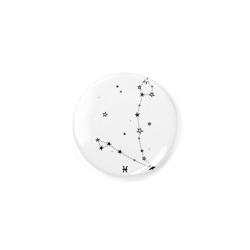 Pisces Zodiac Sign Accessories Button by eleventy-five's Shop
