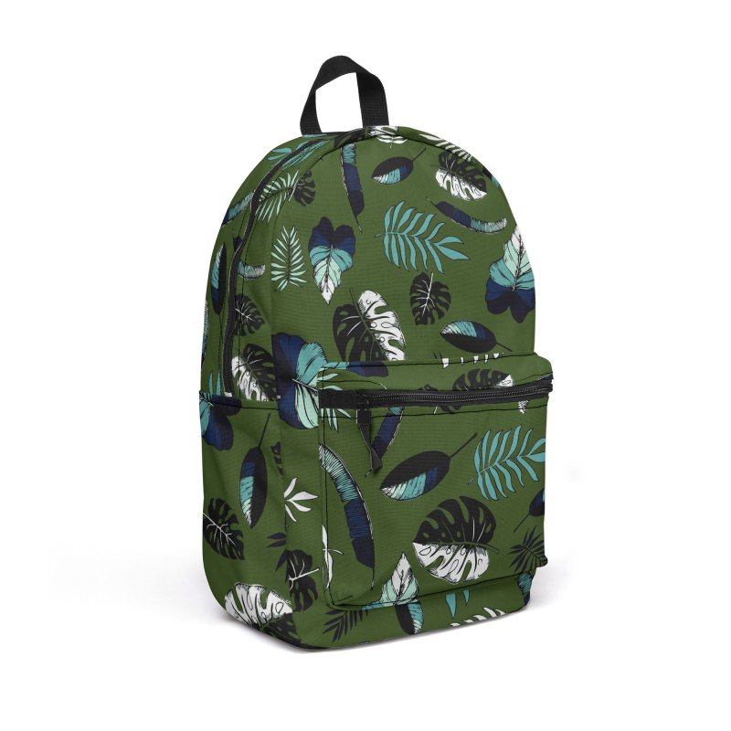 tropical leaves Accessories Backpack Bag by eleventy-five's Shop