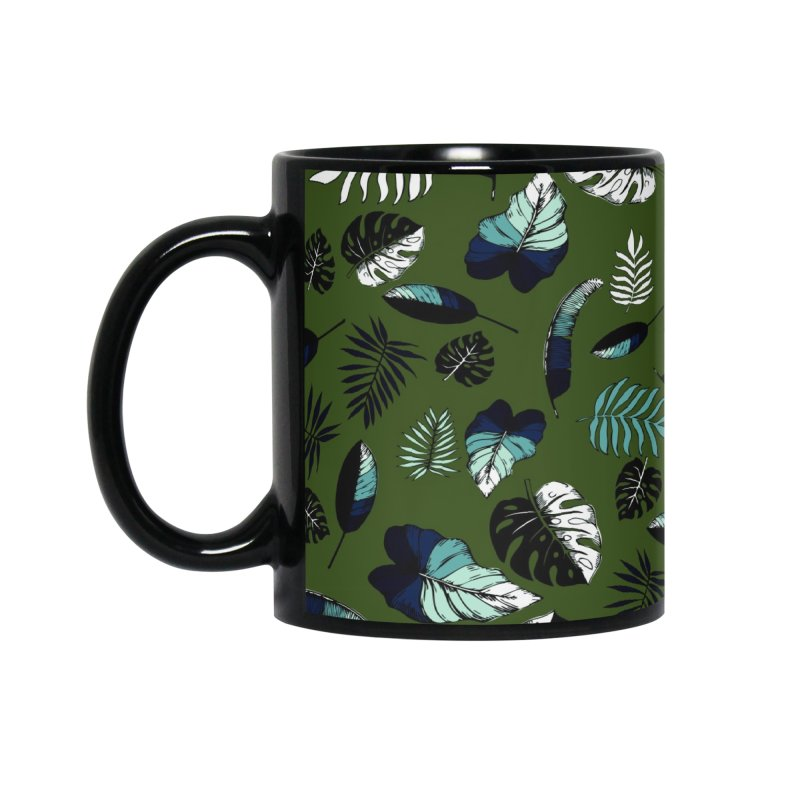 tropical leaves Accessories Standard Mug by eleventy-five's Shop