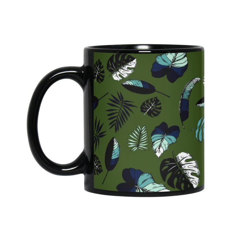 tropical leaves Accessories Mug by eleventy-five's Shop