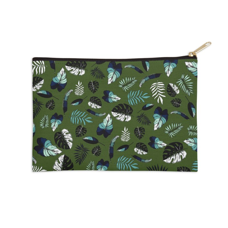 tropical leaves Accessories Zip Pouch by eleventy-five's Shop