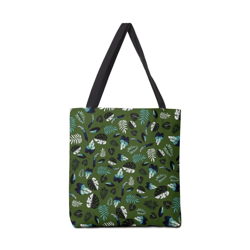 tropical leaves Accessories Tote Bag Bag by eleventy-five's Shop
