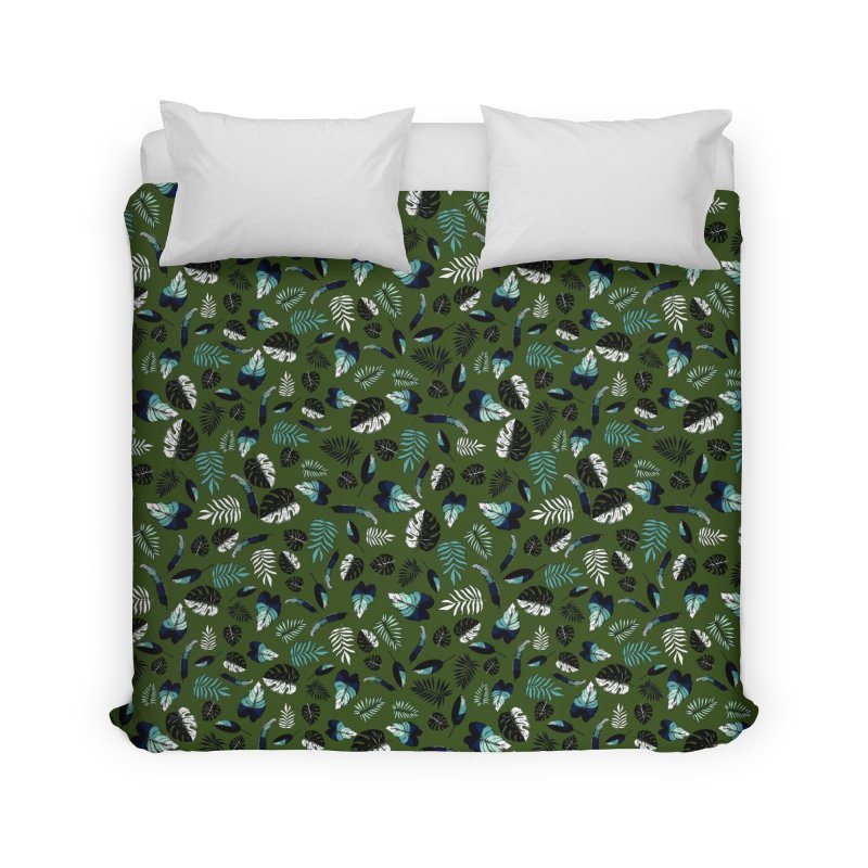 tropical leaves Home Duvet by eleventy-five's Shop