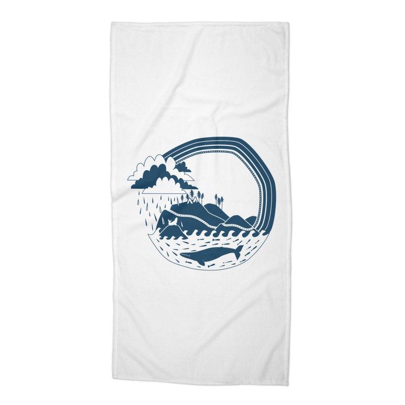 Pacific Coast Explorer Accessories Beach Towel by eleventy-five's Shop