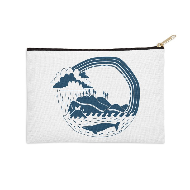 Pacific Coast Explorer Accessories Zip Pouch by eleventy-five's Shop