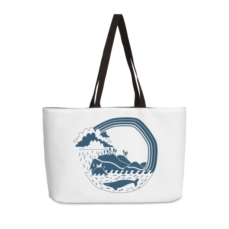 Pacific Coast Explorer Accessories Weekender Bag Bag by eleventy-five's Shop