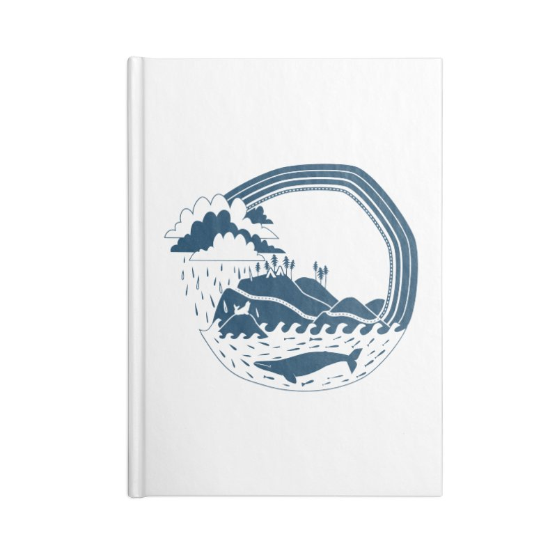 Pacific Coast Explorer Accessories Blank Journal Notebook by eleventy-five's Shop