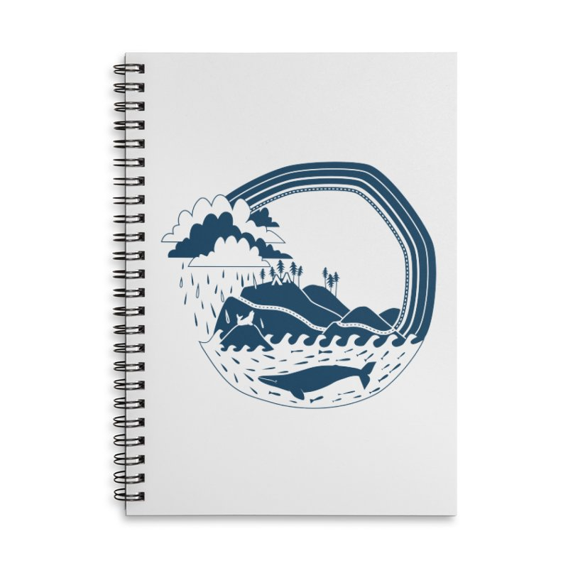 Pacific Coast Explorer Accessories Lined Spiral Notebook by eleventy-five's Shop