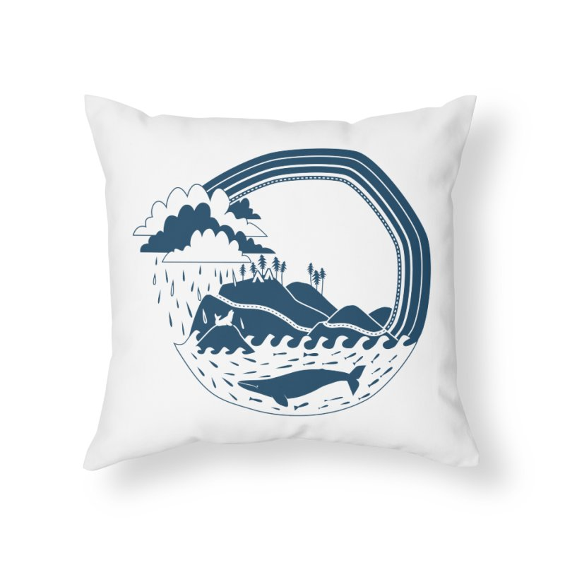 Pacific Coast Explorer Home Throw Pillow by eleventy-five's Shop