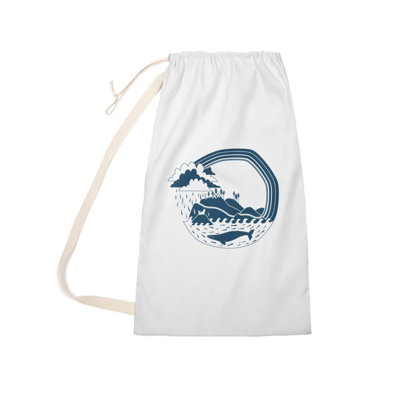 Pacific Coast Explorer Accessories Laundry Bag Bag by eleventy-five's Shop