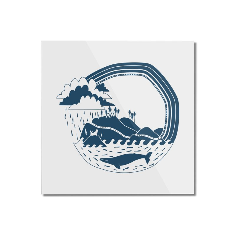 Pacific Coast Explorer Home Mounted Acrylic Print by eleventy-five's Shop