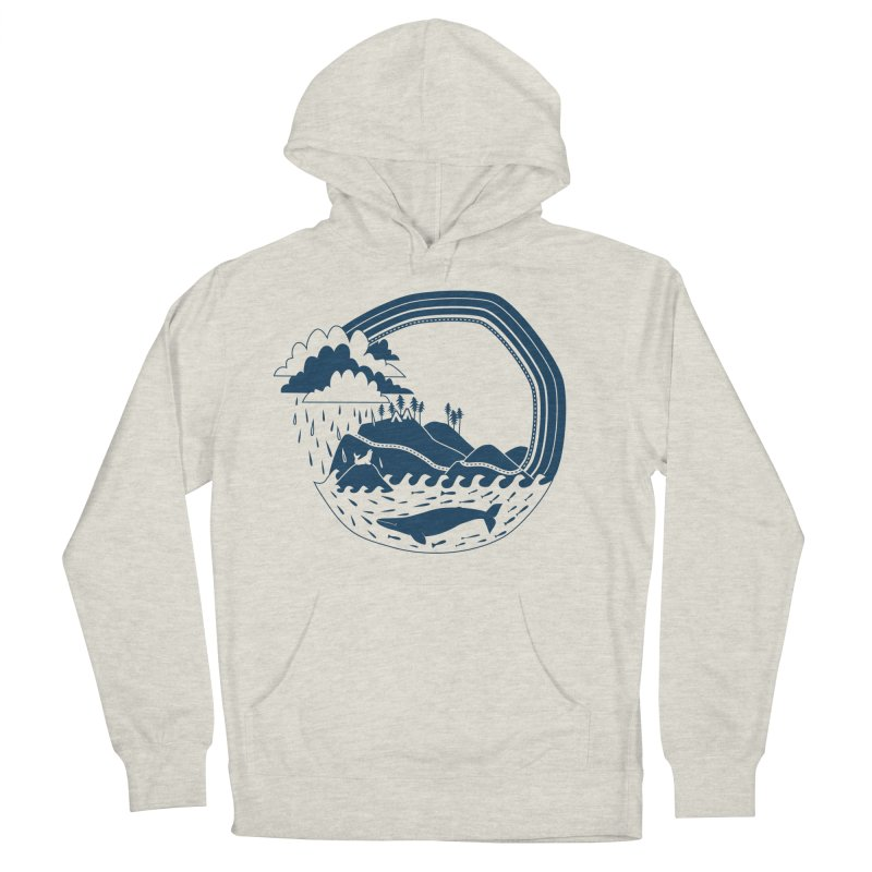 Pacific Coast Explorer Men's Pullover Hoody by eleventy-five's Shop
