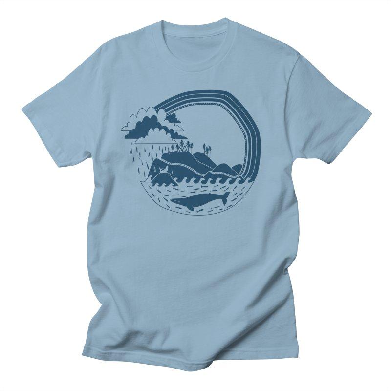 Pacific Coast Explorer Men's T-Shirt by eleventy-five's Shop