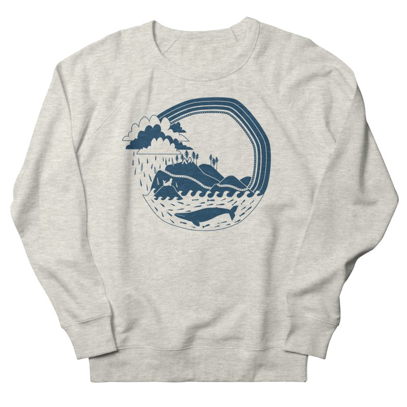 Pacific Coast Explorer Men's French Terry Sweatshirt by eleventy-five's Shop
